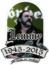 Sticker LEMMY MOTORHEAD 1945/2015