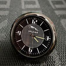 For Jaguar Car Clock Refit Interior Luminous Electronic Quartz Ornaments Gift