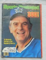 1982 Sports Illustrated Gaylord Perry Seattle Mariners