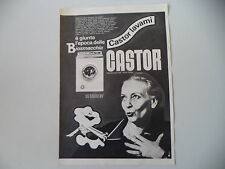 advertising Pubblicità 1969 LAVATRICE CASTOR BIO-SUPERMATIC SPECIAL