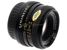 Auto Revuenon MC 50mm. f1,7 innesto Pentax K. Compatibile con reflex digitali.