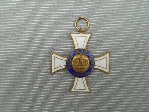 Orden-Kreuz : Kronen-Orden Preußen , Gruftorden ??? Einseitiges Stück !!!