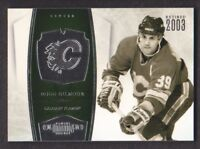 2010-11 Dominion Hockey #112 Doug Gilmour 69/99 Calgary Flames