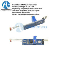 2Pcs LM393 Optical Photosensitive light sensor module for Arduino Shield DC 3-5V