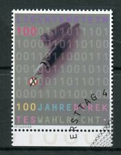 Liechtenstein 2018 CTO Universal Suffrage 100 Yrs 1v Set Voting Elections Stamps