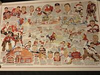 Vintage Providence Reds Hockey Poster Print George Pieri Duffy Bennett Cook Wire