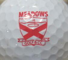 (1) Meadows Golf & Country Club Golf Course Logo Golf Ball