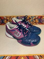 Wilson Womens Rush Pro 2.0 Tennis Shoes - Peony/Teal - WRS319570 Size 7