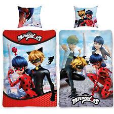 Linon Bettwäsche Miraculous Ladybug Paris 135 x 200 cm Kinderbettwäsche Renforcé