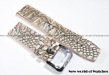 Invicta Genuine Leather 24MM Russian Diver Strap Snake Skin Color - New