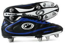 Optimum Inferno II Mens Adults Rugby League Union Boot Black / Blue UK 9