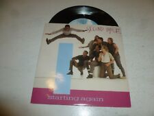 "SECOND IMAGE - Starting again - 1985 UK 2-track 7"" Vinyl Single"