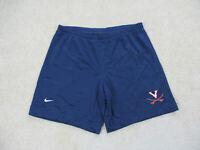 Nike Virginia Cavaliers Shorts Adult Large Blue Orange College Football Mens