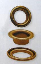 Prym 10 Ojales con Discos latón antiguo 14 mm Botones Remaches Jardín 541364