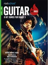 Rockschool HOT ROCK GUITAR Grade 3 download AUDIO imparare a suonare musica libro/Audio