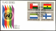United Nations 1985 Flags Series FDC First Day Cover #C36037