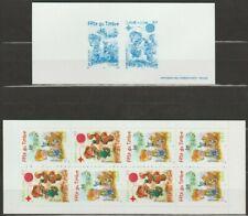 """France, Carnet de timbres + souvenir """" BD """" neufs, bien"""