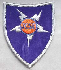 joint communications support element agent orange velvet vietnam  cloth patch