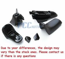 YAMAHA PW50 PW 50 PLASTIC SEAT GAS TANK KIT BLACK COLOR M PS36