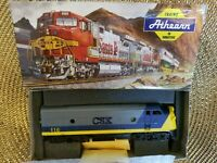 Vintage ATHEARN HO #3243 F7A SUPER POWER CSX Diesel LOCOMOTIVE , NEW IN THE BOX