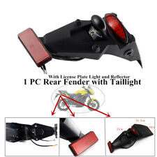 With High lumen LED Brake Stop Tail Light Motorcycle Rear Fender Mud Guard Mount