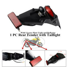 With High lumen LED Brake Stop Tail Light Motorcycle Rear Fender Mud Guard Mount