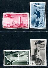 ITALIEN 1934 484-487 ** POSTFRISCH FUSSBALL WM 310€(S0281