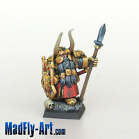 Dwarf Lord Wolfrik MASTERS6 painted MadFly-Art