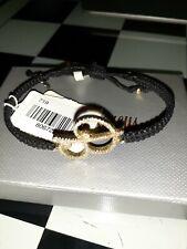 "Neiman Marcus Tai Personalized Swarovski Crystals ""B"" Initial Rope Bracelet"
