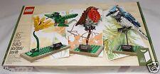 LEGO BIRDS 21301 IDEAS CUUSOO blue jay hummingbird robin 580 pcs