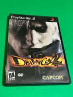 🔥 SONY PS2 PlayStation Two 🔥 💯 COMPLETE GAME 🔥 CAPCOM 🔥 DEVIL MAY CRY 2