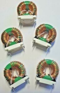 Qty 5 x  3.432mH @ 10Khz Inductor,Coils,Toroid,Filter,Common Mode Chokes,