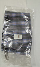 JOHN LEWIS NAVY CHECK BOXERS SIZE SMALL BRAND NEW