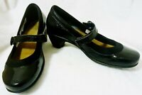 NAOT LOW HEELS BLACK LEATHER DRESS SHOES SIZE 37 OR 6