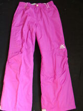 NWT Girls Zero XPosur Snow Pants Size 14 SKI Snowboard Winter Pink Purple NEW