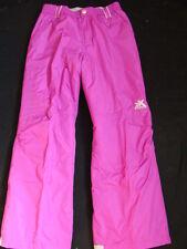Girls Zero Xposur Snow Pants Size 14 Ski Snowboard Winter Pink Purple 17a618781