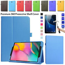 "For Samsung Tab A 10.1"" Inch T510 T580 Tab  Leather Slim Stand Case Cover Pouch"