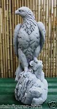 FIGURAS Piedra Águila Animal de moldeada NUEVO resistente a Heladas steinadler