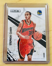 STEPHEN CURRY Rookie & Stars #86 Warriors Basketball Card 2010-11 in RC Jersey