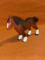 "5"" ELC ARLY LEARNING CENTRE RETIRED 2003 SHIRE HORSE STALLION 31582 HORSE FIGURE"