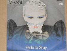 "Visage-Fade to Grey - 7"" 45 signifiant"