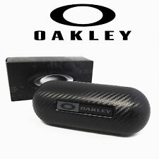 New Oakley Large Carbon Fiber Hard Case Sunglasses Eyeglasses Case 07-257