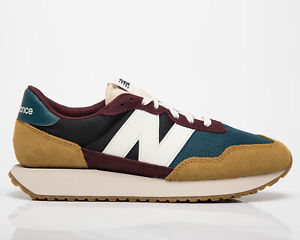 New Balance 237 Workwear Men's Sand Teal Burgundy Low Lifestyle Sneakers Shoes