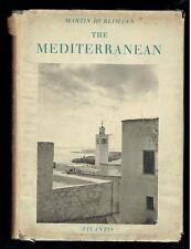 Hurlimann, Martin; The Mediterranean. Atlantis-Verlag 1957