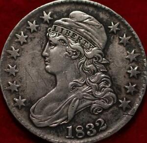 1832 Philadelphia Mint Silver Capped Bust Half Dollar