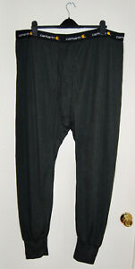 NWT Carhartt Men's Big & Tall Black Base Force Cold Weather Bottom sz 4XL