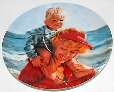 Beach Baby by Susie Morton ~ Me and Mom Series Collector's Plate by Ernst