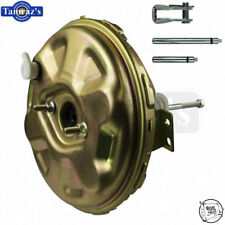 """67-72 A / F / X Body Delco STYLE 11"""" Brake Vacuum Booster Gold Cadmium Plated"""