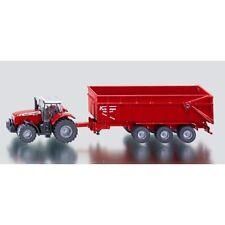 FARMER SIKU 1844 Massey Ferguson 8480 Tractor Krampe Trailer 1:87 Die-cast Model