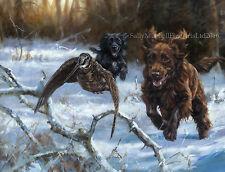 Cocker Spaniel Dog, Christmas cards pack of 10 by John Trickett C490X